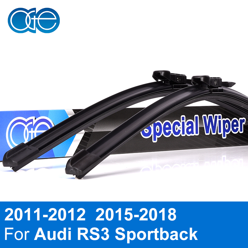 OGE Wiper Blades For Audi RS3 Sportback 2011 2012 2015 2016 2017 2018 High Quality Rubber Windscreen Car Accessories