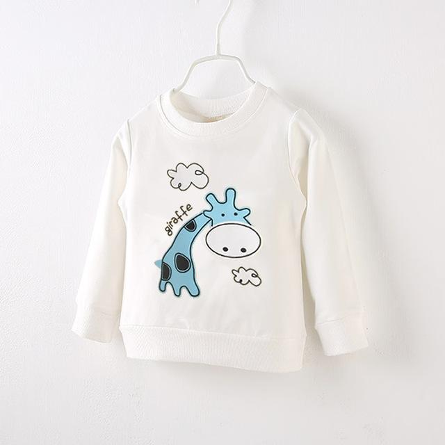 Sweatshirt for Boys with Cartoony Prints