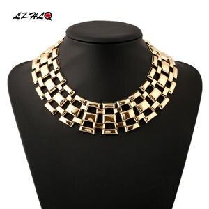 LZHLQ Necklace Women Jewelry Collar Statement Choker Rock Femme Personality Big Street
