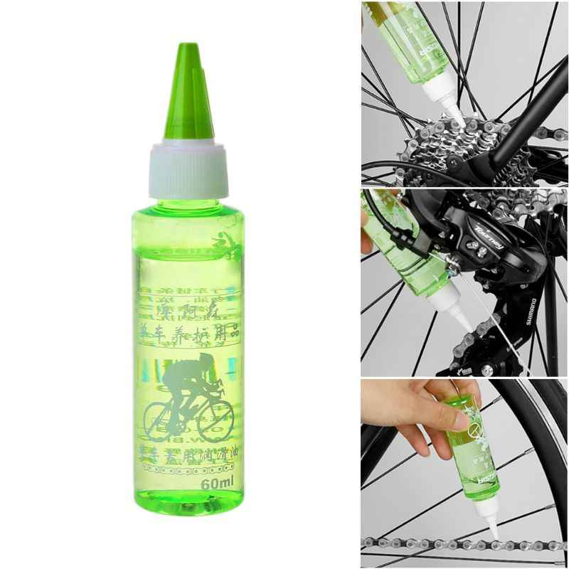 60 мл смазка для велосипедной цепи, смазочное масло, очиститель для велоспорта, смазка для ремонта