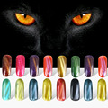 5ml Gel Nail Polish Cat's Eye Long-lasting Soak-off Cat's-eye Gel Polish Professional UV Gel Lacquer Cat's Eye Magnet ZJ1350