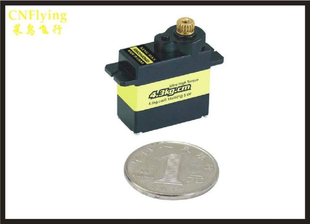 FREE SHIPPING 4 pcs KM0940MD digital servo 13g 4 5kg cm aluminium gears mini servo for