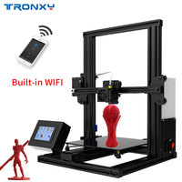 Tronxy XY 2 Fast Assembly Full metal 3D Printer supports WIFI connection 220*220*260mm High printing with Touch Screen