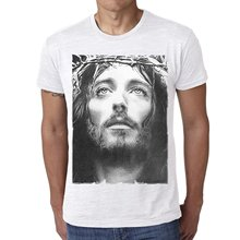 GILDAN T Shirt Summer Famous Clothing Jesus Christ : Men's T-shirt Celebrity Star One In The City