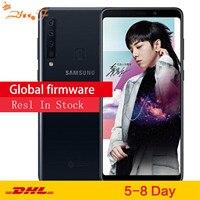 Новый samsung Galaxy A9s A9200 LTE мобильный телефон 6,3 6 ГБ Оперативная память 128 Гб Встроенная память Octa Core Четыре задние Камера Android телефон с распозна