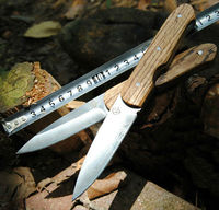 HOT Sale Survival Knife Fixed 440C Blade Knife Wood Handle Hunting Tactical Knifes Camping Knives Outdoor