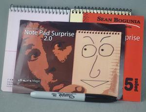Image 1 - Note Surprise 2.0, accessoires de fête de magicien à fermer, accessoires de fête, trompette, Illusion drôle