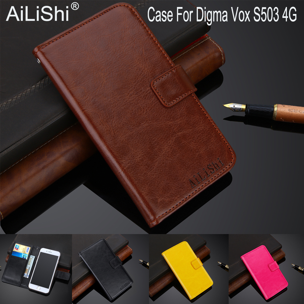 Cellphones & Telecommunications Case For Digma Vox S506 4g Luxury Flip Pu Leather Case Exclusive 100% Special Phone Cover Skin+tracking Hard-Working Ailishi Factory Direct Flip Cases