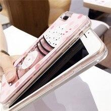 Cartoon Dynamic Liquid Phone Cases iPhone 6 6s Plus 7 7 Plus 8 X
