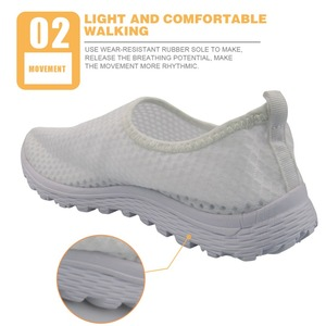 Image 3 - INSTANTARTS Breathable Female Flats Nurse Sneakers Fashion Women Summer Mesh Shoe 3D Cartoon Dentist/Tooth Pattern Zapatos Mujer
