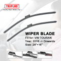 "Wiper Blade para VW TOURAN (2016-Onwards) 1 conjunto de 28 ""+ 16"""