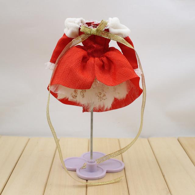 Neo Blythe Doll Christmas Dress