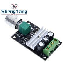 ShengYang – régulateur de vitesse de moteur PWM réglable, 6V 12V 24V 28V DC 3a 80W