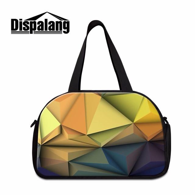 Dispalang viagem duffle bag diamante malha das mulheres bagagem sacos de viagem de negócios de viagem duffle bag com tomada de sapato independente