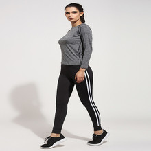 2016 New Women Yoga Pants Sport Gym Fitness Workout Running Tights polyester Yoga Leggings Jogging Sports Trousers