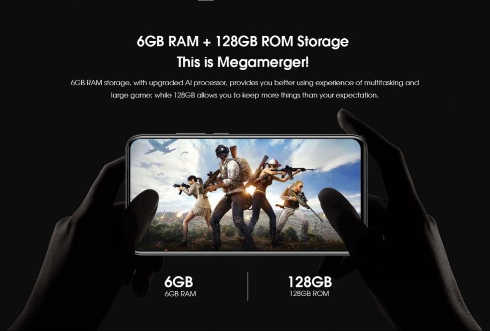 6GB 16MP MT6771T كاميرا 36