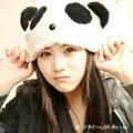 Invierno de Las Mujeres Lindo Panda Gorros Ear Warmer Sombrero de Dibujos Animados Chica Skullies Gorros