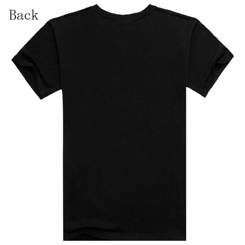 Hombres Lobo 3D Camisetas Moda Negro Blanco Camiseta estampada Casual - Ropa de hombre - foto 3