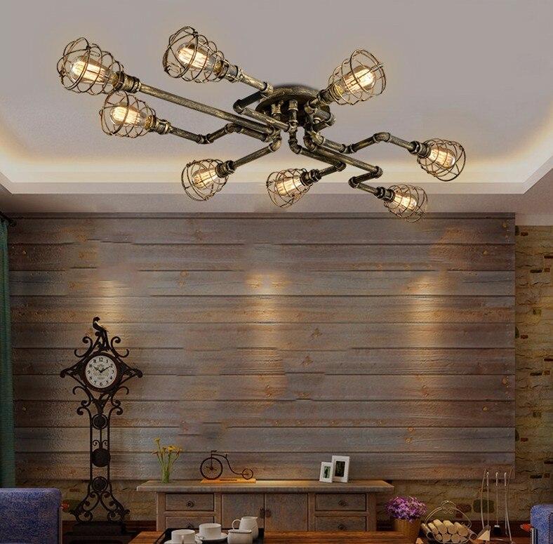 industrial decoração interior barra cozinha café luz teto