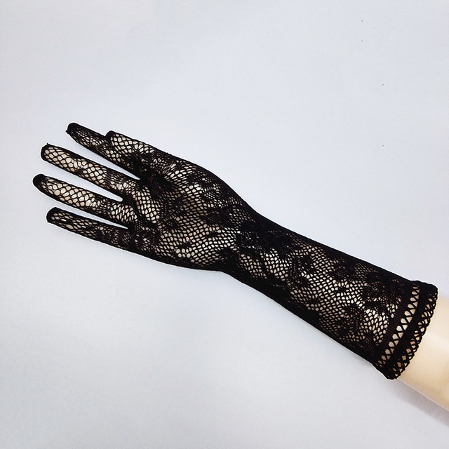 Sexy transparent lace elastic gloves bride Long-sleeve gloves mesh liturgy gloves sexy gloves lace 610 4