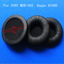 55mm Diameter Leatherette Ear Cushions 4pcs /lot Free shipping by mail