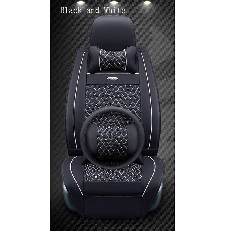 WLMWL housse de siège de voiture universelle en cuir pour BMW tous les modèles f30 f10 e46 x5 e70 x1 x3 e39 x5 x4 f11 coussin auto style voiture