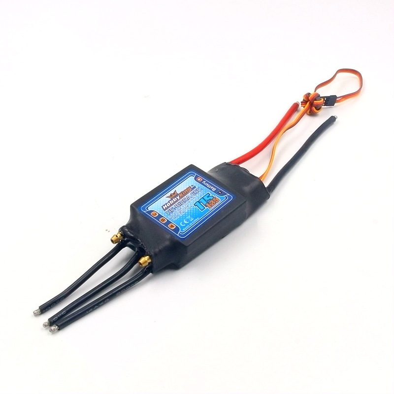 HobbyKing HK-B125A ESC 125A BEC 5V/5A 2-7S water-proof electronic speed controller with water cooling for RC hobby boat model great hobbyking extreme short course short course brushless motor 120a 2s 4s esc speed controller for 1 8 1 10 suv car
