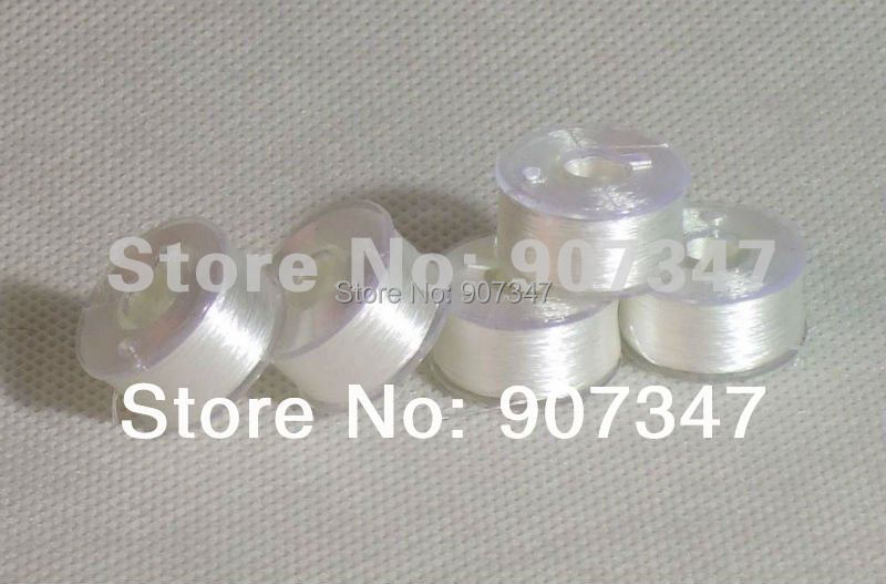 Free Shipping L Size Plastic Sided  Prewound Bobbins For Brother And Babylock Embroidery Machine 1gross