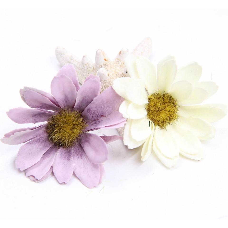 1Bunch Pretty Artificial Silk Flowers European Style Daisy Flower ...