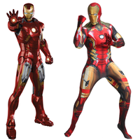 Iron Man Costume Cosplay Zentai Suit Superhero Costume