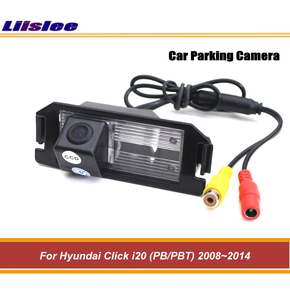 Liislee Voor Hyundai Klik I20 (pb/pbt) 2008 ~ 2014 Ccd Nachtzicht/auto Achter Back Up Camera/achteruitrijcamera Achteruitrijcamera Auto Cam