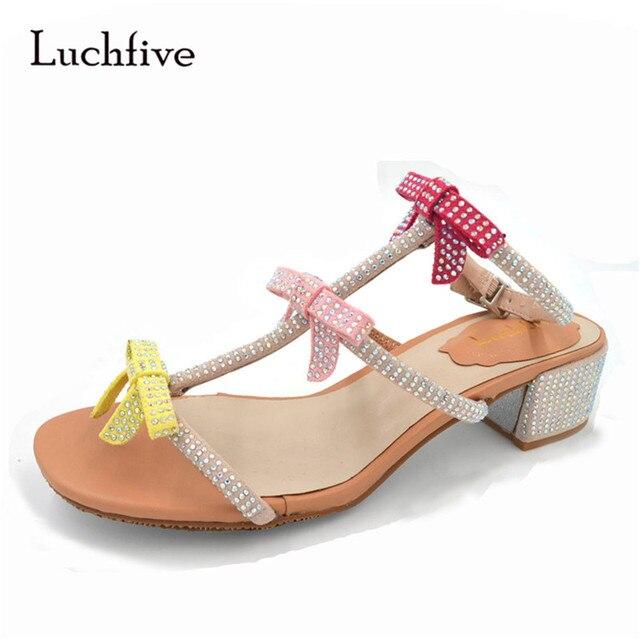 wholesale dealer 745a5 61d76 Luchfive-Round-Toe-Buckled-Butterfly-knot-Gladiator-Sandals-Women-Crystal-Med-Chunky-Heel-Bling-Bling-Summer.jpg 640x640.jpg