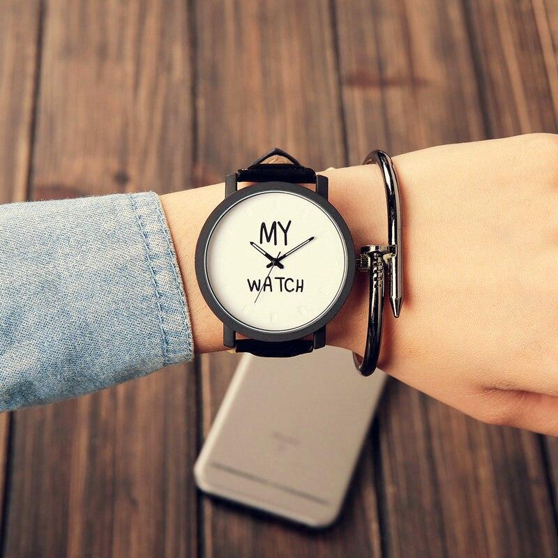 Fashion 2017 New Watches Popular Casual Quartz Women Men Watch Lover's Gift Clock Boys Girls Wristwatch Relogio Masculino