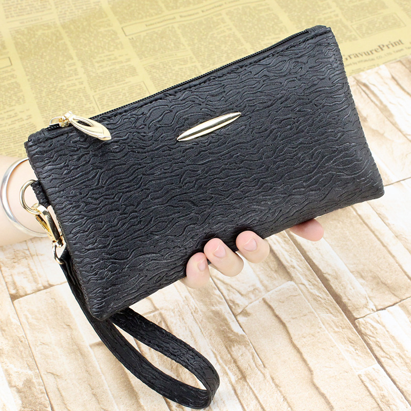 New Japanese style fashion striped women clutch bag sequined wrist portable small mobile phone bag woman money clips striped travelling carrying bag for cats small