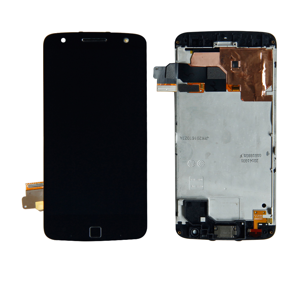 For Motorola Moto Z Force Droid <font><b>XT1650</b></font> <font><b>LCD</b></font> Display Touch Screen Digitizer Frame Replacement +Tools image