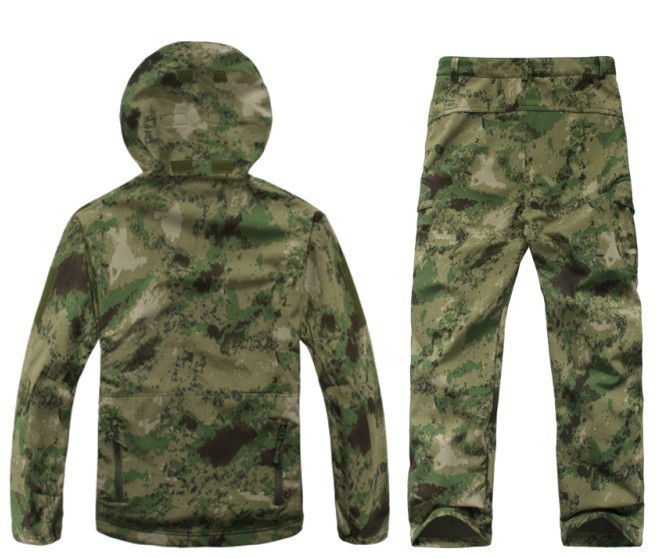 Army Gear acu Cappotto cp yeiiowcamouflage verde