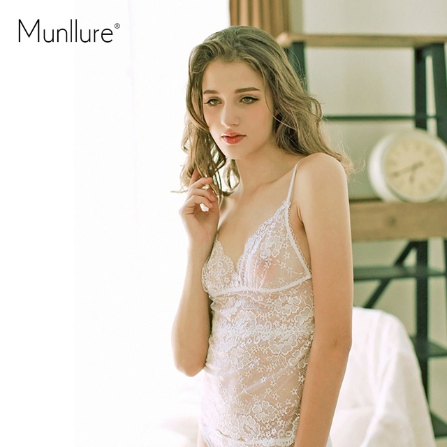 257afdc6d Munllure preto-e-branco conjunto rendas usuginu transparente alcinhas  calcinha sexy roupa interior das