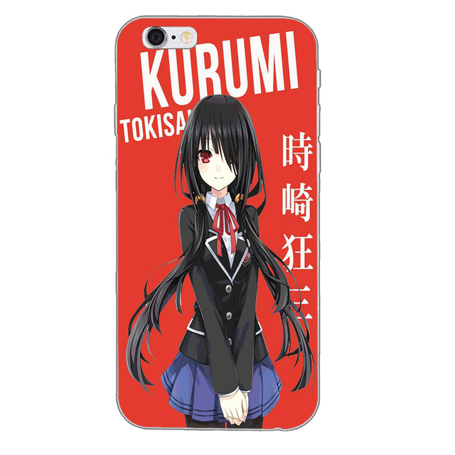 Tokyo Ghoul Silicone TPU Soft Phone Case For iPhone