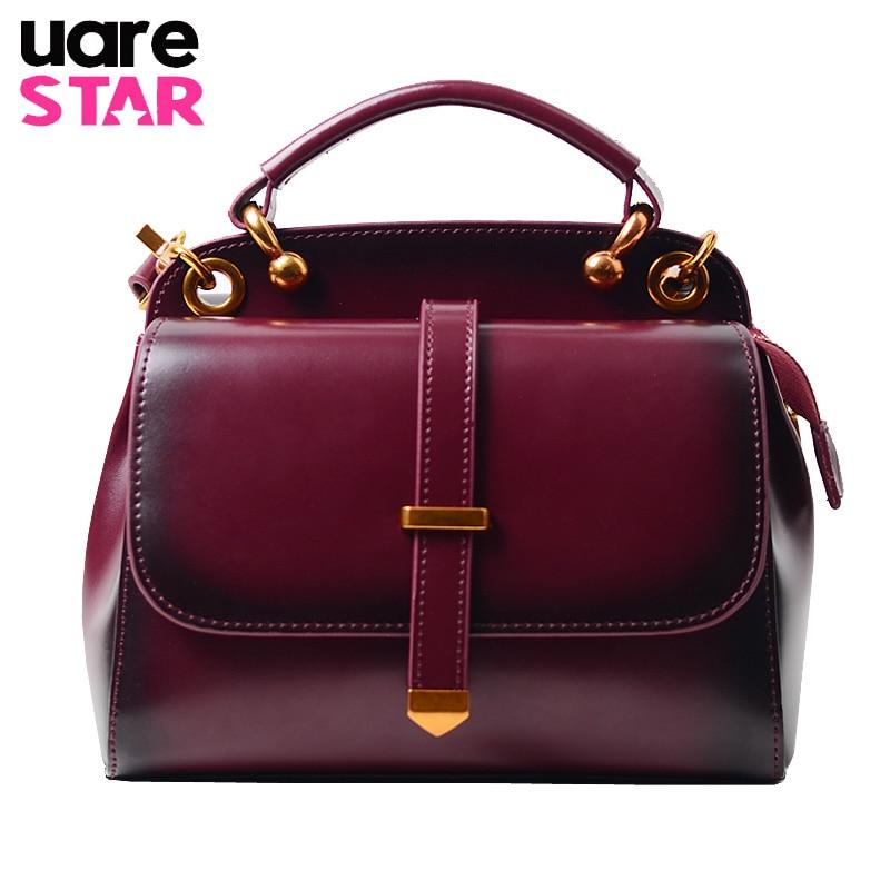 Genuine Leather Women Crossbody Bag Luxury Handbags Women Bags Designer Fashion Shoulder Bags for Women Rivet