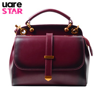 Genuine Leather Women Crossbody Bag Luxury Handbags Women Bags Designer Fashion Shoulder Bags for Women Rivet Women Bag