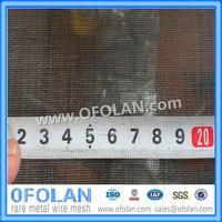 (MO1> 99.95%) Размер отверстия 0,3 мм (60 сетка) молибдена сетка 100 мм X 1000 мм наличии питания