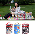 nappy mummy backpack multifunctional bag baby diaper bags stroller clips 2017 Newest W5