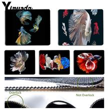 Yinuoda Your Own Mats betta fish photography Large Mouse pad PC Computer mat Size for 18x22cm 25x29cm Rubber Mousemats
