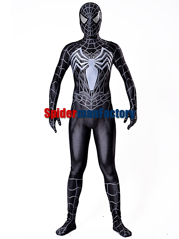 2017 Black Venom Raimi Saga spiderman Costume Custom Made ...