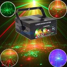 Красный Зеленый Лазер Lumiere Синие Светодиоды и Музыкальное Оборудование Для Disco Machine OnThe Дистанционного Управления Soundlights