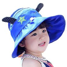 aaf975ccdc8 Retail Unisex Without Bucket Hats Kid Children Dog Design Fisherman Caps  Spring Summer Sun Protective Hat