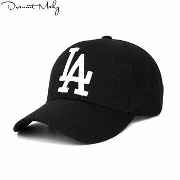 Nueva moda de LA gorra de béisbol de los Dodgers bordado Hip Hop hueso Snapback  sombreros para hombres y mujeres Gorras Unisex tapa gorra snapback- a2042db7d2a
