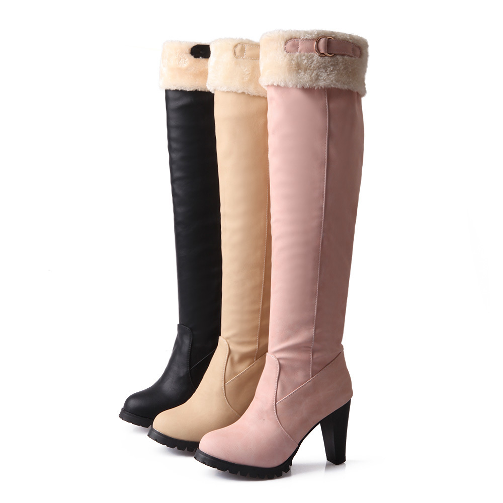 popular hot pink high heel boots buy cheap hot pink high. Black Bedroom Furniture Sets. Home Design Ideas
