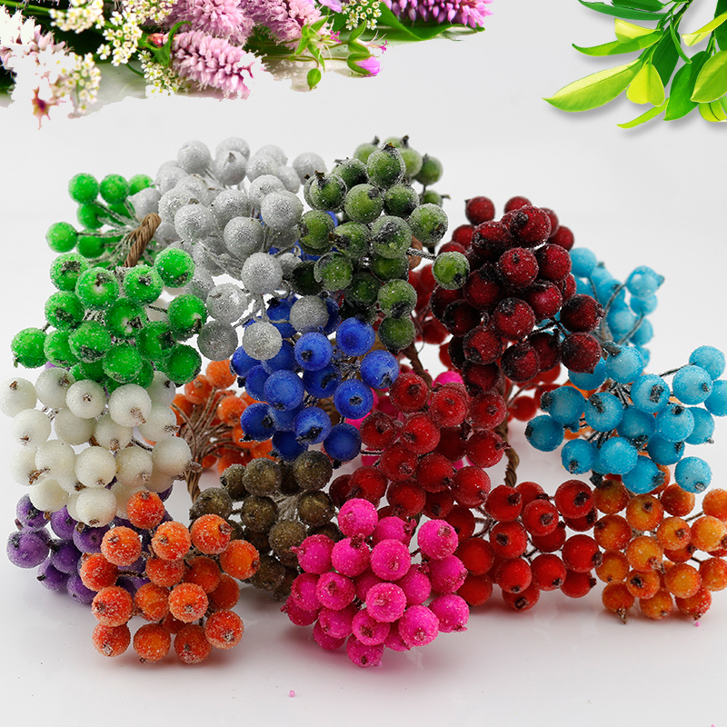 Popular decorative cherry buy cheap decorative cherry lots for Artificial pomegranate decoration