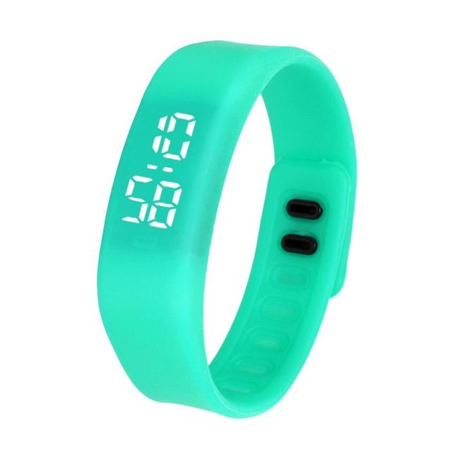 Xiniu Women Rubber Bracelet Watches Auto Date Digital LED sports Running Watch T